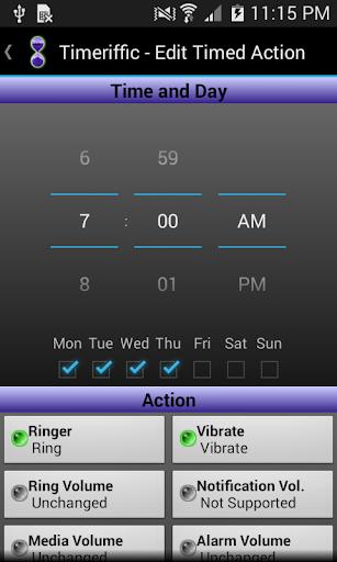 Timeriffic screenshot 5