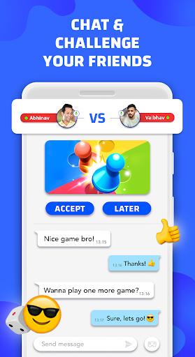Code Triche Hello Play - Ludo, Carrom, Cricket , Candy Games APK MOD screenshots 2