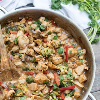 Easy Peanut Chicken Stir Fry Recipe