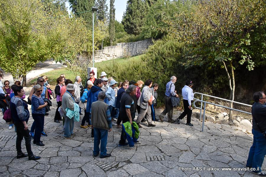 Национальный парк Бейт Шеарим. Экскурсия гида по Израилю Светланы Фиалковой.