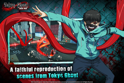 Tokyo Ghoul: Dark War  captures d'écran 1