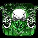 Gun Weed Ghost Keyboard icon