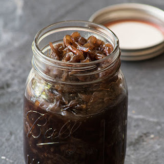 Caramelised Onions with Balsamic Vinegar.