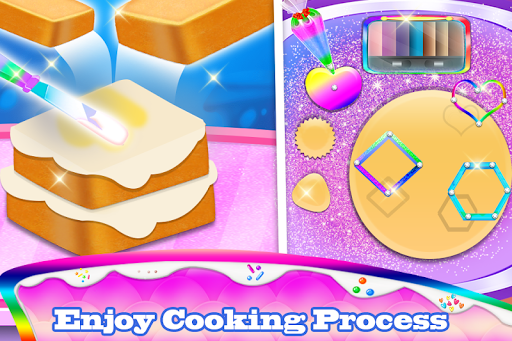 Makeup kit cakes : cosmetic box makeup cake games 1.0.4 screenshots 4