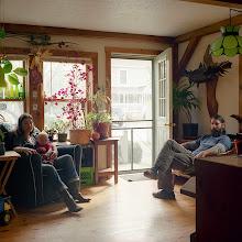 Photo: title: Josh Potocki, Katie + Finn Schier-Potocki, South Portland, Maine date: 2013 relationship: friends, art, met through Brian Burwell years known: Katie 10-15, Josh 0-5