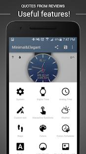 Watch Face - Minimal & Elegant Screenshot 17