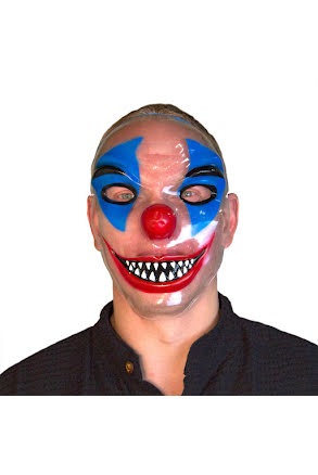 Clownmask, transparent