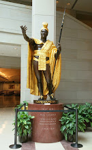 Photo: Statue of Kamehameha I, circa 1758-1819. I love this statue! It is the heaviest statue in the National Statuary Hall Collection and weighs over 6 tons. Donated by Hawaii in 1969 - http://www.aoc.gov/capitol-hill/national-statuary-hall-collection/kamehameha-i