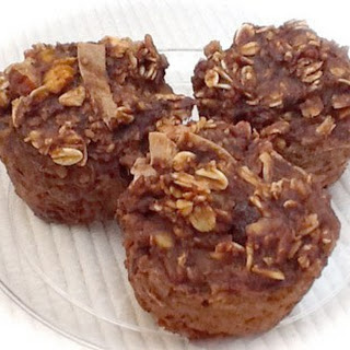 Fast No Flour Coconut Sweet Potato Muffins.