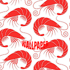 Shrimp Pattern Wallpapers icon