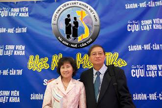 Photo: anh Nguyễn Toàn (SVLK SaiGon) cùng phu nhân: chị Dương Thị Trâm