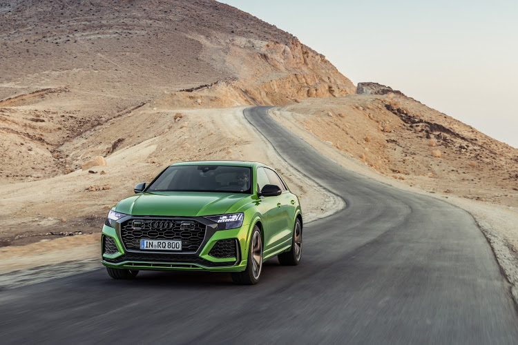 The RS Q8 is Audi's most powerful SUV and holds a Nurburgring lap record.