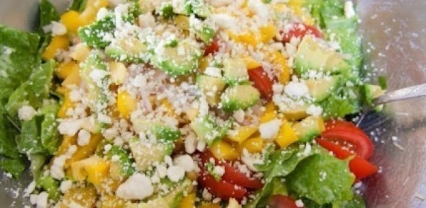 Add rest of veggies and chicken and toss with dressing.Can also be made into...