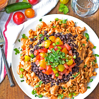 Sonora Chicken Pasta {Ruby Tuesday's Copycat, Grain Free, Gluten Free, Paleo Option}
