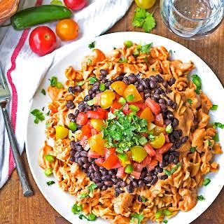Sonora Chicken Pasta {Ruby Tuesday's Copycat, Grain Free, Gluten Free, Paleo Option}.