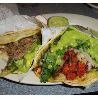 Chorizo Tacos.