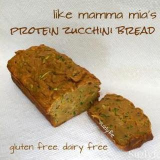 Gluten Free Zucchini Protein Bread (Dairy Free)