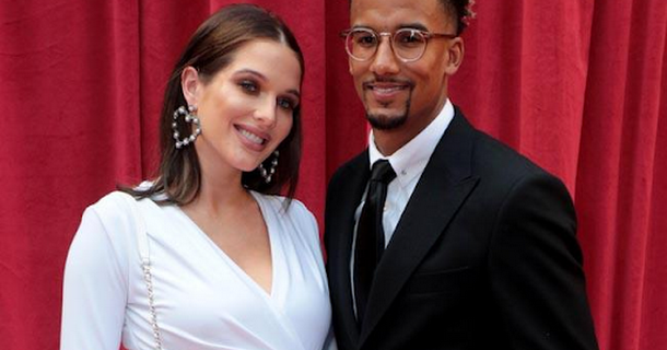Helen Flanagan 'already feels married' to Scott Sinclair