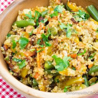Crockpot Quinoa and Vegetables.