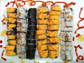 Photo: Sushi night at J&J's house