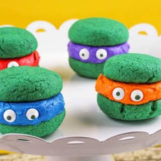 Teenage Mutant Ninja Turtle Whoopie Pies.