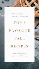 Favorite Fall Recipes - Instagram Story item