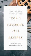 Favorite Fall Recipes - Pinterest Idea Pin item