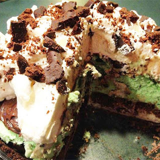 Fudgy Grasshopper Ice Cream Pie