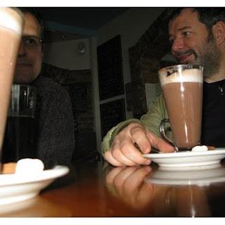 Brandied Hot Chocolate.