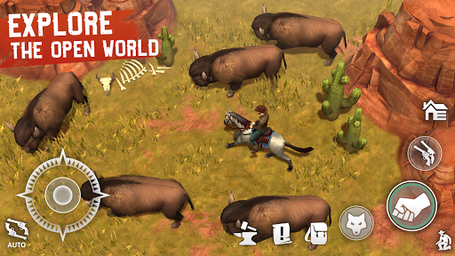Westland Survival - Be a survivor in the Wild West apkpoly screenshots 4
