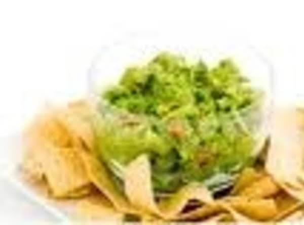 Simple Guacomole Dip Recipe