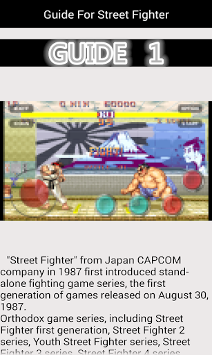 Guide For Street Fighter Apk by lu yanmi - wikiapk com