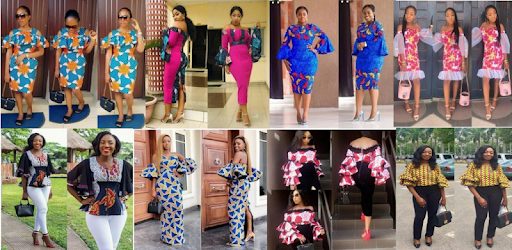 Features Lovely, Gorgeous and Trending Ankara Flare Top Design Dress collections