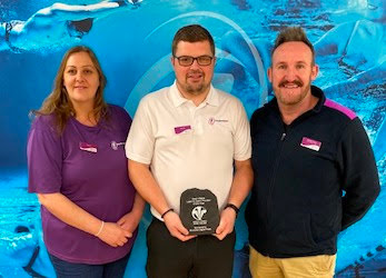 Swimming award for Freedom Leisure