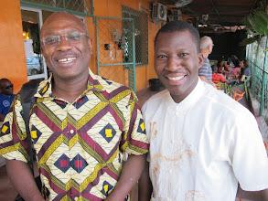 Photo: Sn1P0306-160203Abbé Toussaint Ouologuem, diocèse de MOPTI, Mali & Jacques-Aimé Sagna IMG_0275