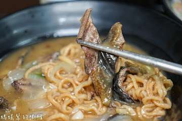 水煮意鱔魚意麵