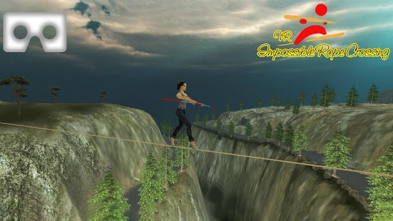 VR Impossible Rope Crossing Adventure_Best App - náhled