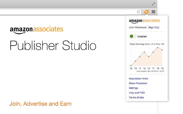 Amazon Publisher Studio Extension Beta
