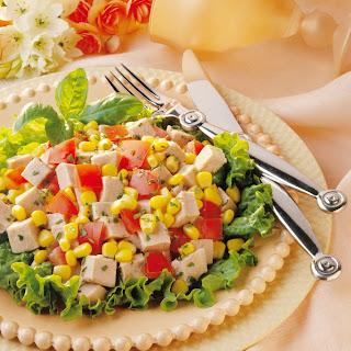 Herbed Pork and Corn Salad.