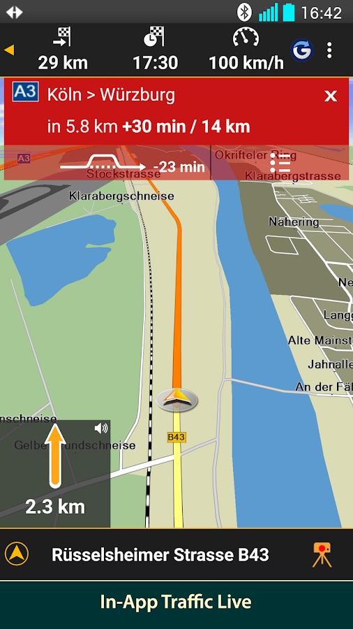 NAVIGON Nordics- screenshot