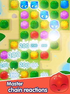 Jelly Splash - Line Match 3 screenshot 11
