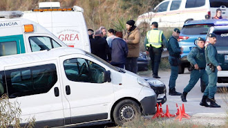 Familiares de Julen, el niño que cayó a un pozo en Totalán (Málaga) / Álex Zea