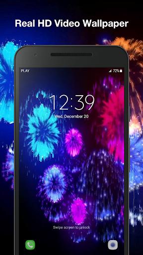 3d fireworks live wallpaper pro screenshot 3