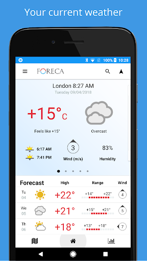 Foreca Weather 4.2.10 gameplay | AndroidFC 1