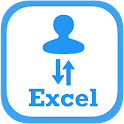 Import Export Contacts Excel icon