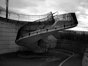 Photo: Escalier en marche