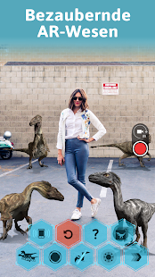 Monster Park AR - Dinosaurier AR: Jurassic Welt Screenshot