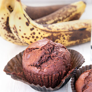 Easy Banana And Dark Chocolate Muffins
