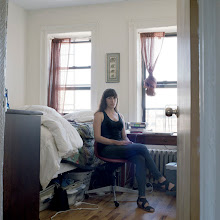 Photo: title: Rebecca Litt, Brooklyn, New York date: 2011 relationship: friends, art, met at Chateau La Napoule artist residency years known: 0-5