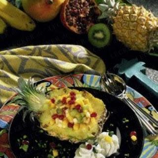 Gefüllte Baby-Ananas